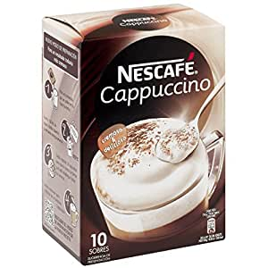 Nescafe Cappucino Packets - 14g - 10 ct