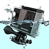 MUSON(ムソン) [メーカー直販/1年保証付] アクションカメラ 1080PフルHD高画質 30m防水 スポーツカメラ Wi-Fi搭載 ウェアラブルカメラ 防犯カメラ ドライブレコーダーとしても利用可能 C1 ブラック