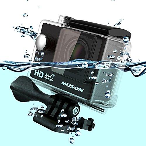 MUSON(ムソン) [メーカー直販/1年保証付] アクションカメラ 108...