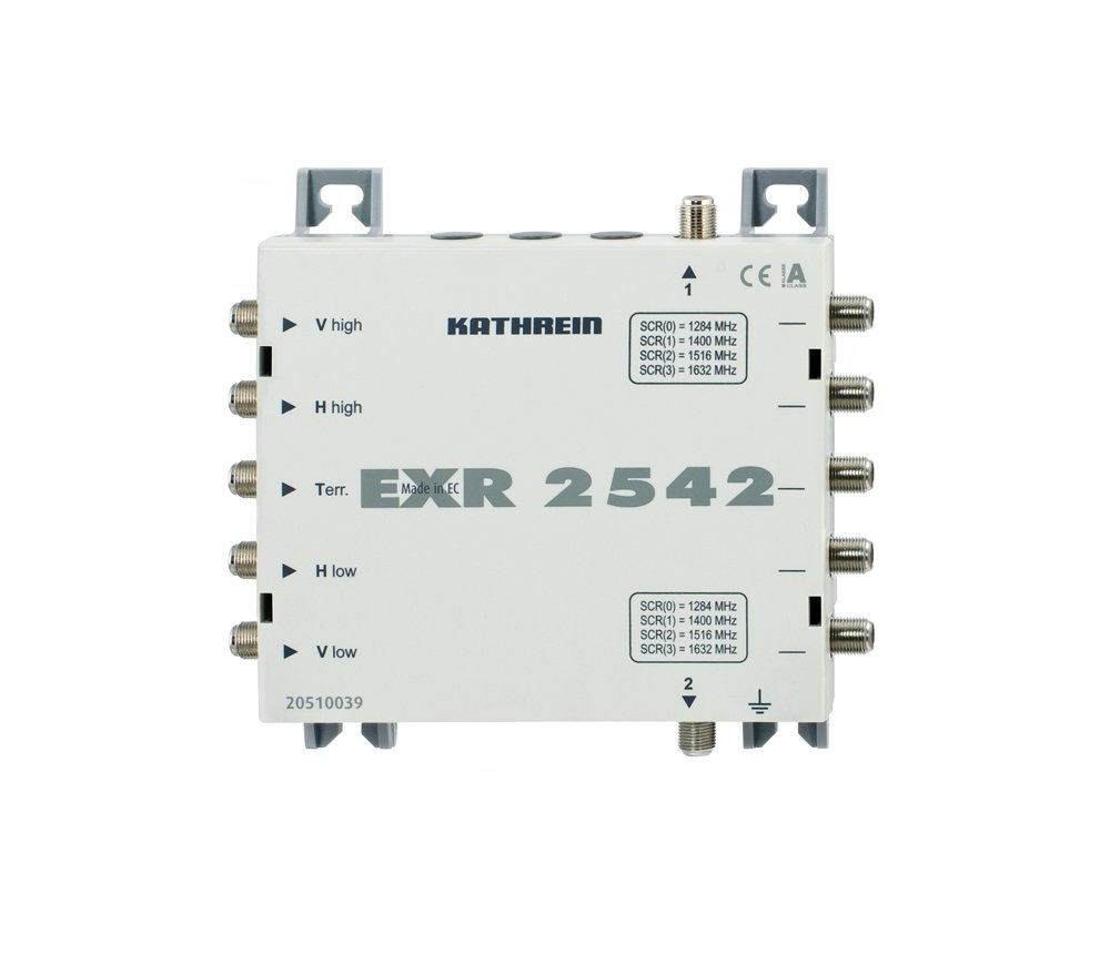 Kathrein EXR2542 EinkabelMultischalter 5/2X4  Kritiken und weitere Informationen