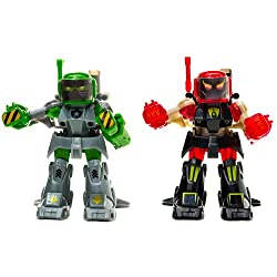 Battroborg 2pk with Battle Arena - Green and Red