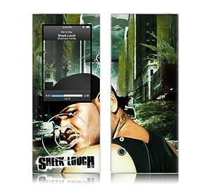 Music Skins MS-SHEK10039 iPod Nano- 5th Gen- Sheek Louch- Silverback Gorilla Skin