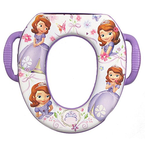 Disney Sofia the First Soft Potty Seat by Ginsey - 1