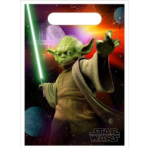 Star Wars 3-D Loot Bags 8ct