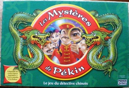 Hasbro - Parker - 46295 - Les Mystères de Pékin - Le jeu du détective chinois - Jeu de société