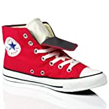 CONVERSE ALL STAR CHUCK TAYLOR 132447 RASPBERRY PINK DOUBLE UPPER SHOES SIZE