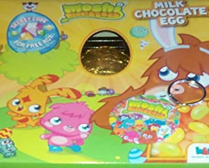 * MOSHI MONSTERS* Easter Egg & Jelly Bean Gift Pack With Exclusive Keyring & Secret Code For Free Rox