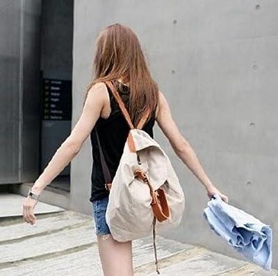 【Partners】レトロで可愛い 渋谷 原宿 109 で人気 カジュアル リュック バッグ 2 way【 カラー : ベージュ】