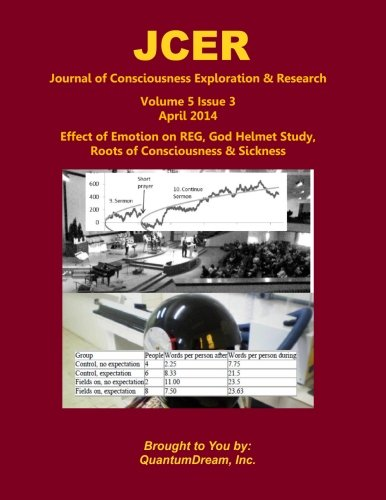 Journal of Consciousness Exploration & Research Volume 5 Issue 3: Effect of Emotion on REG, God Helmet Study, Roots