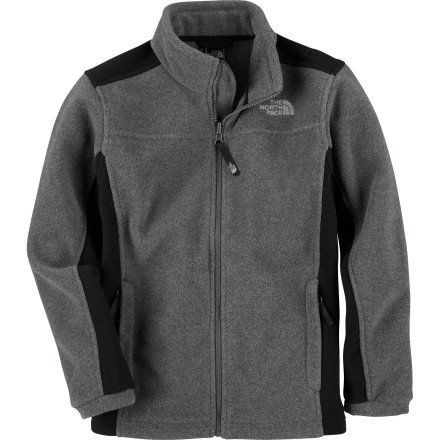 Best The North Face Khumbu Fleece Jacket - Boys&39 Charcoal Grey