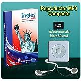 Curso de INGLES MP3 - (Incluye reproductor MP3 compacto con 100 Lecciones + Libro Guía)