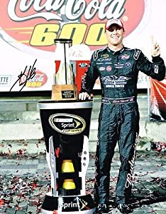 Kevin Harvick Signed Picture - TROPHY 11X14 COA - Autographed NASCAR Photos by Sports Memorabilia