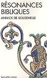 R�sonances bibliques par Annick de Souzenelle