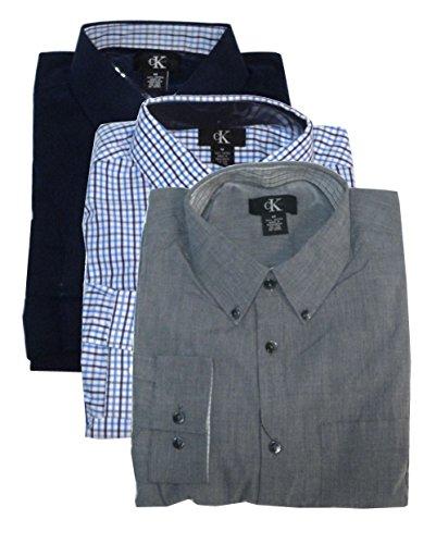 Calvin-Klein-Mens-Classic-Button-Down-Woven-Shirt
