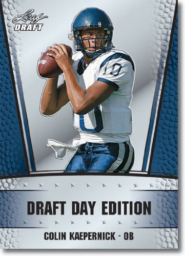 2011 Leaf Nfl Draft Day Edition Football Card # 6 Colin Kaepernick Rc - San Francisco 49Ers (Rc - Rookie Card) Nfl Rookie Trading Card