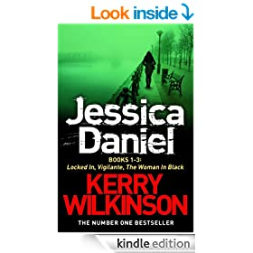 DS Jessica Daniel series: Locked In/Vigilante/The Woman in Black - Books 1-3