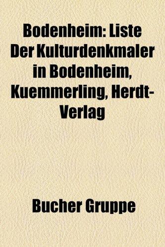 bodenheim-liste-der-kulturdenkmaler-in-bodenheim-kuemmerling-herdt-verlag