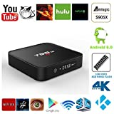 Greatever T95M 4K 1G/8G Android 6.0 Marshmallow OS Amlogic S905X Kodi XBMC Pre-installed Full Loaded Smart TV Box Quad Core HDMI WIFI 3D Google Youtube Streaming Media Player