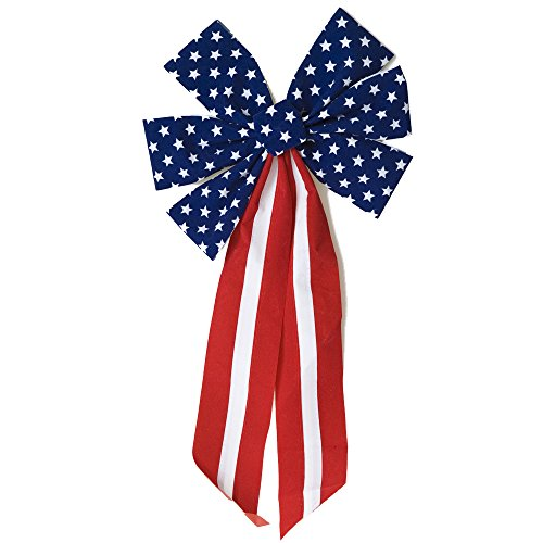 Decorative Patriotic Bow - 1