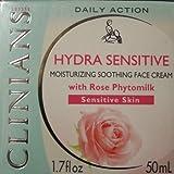 Clinians Clinica Della Bellezza Moisturizing Protective Cream Sensitive Skin From Italy 1.7 Oz.