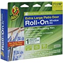 Duck Brand Roll-On Window Kit, Indoor, Extra Large Patio Door