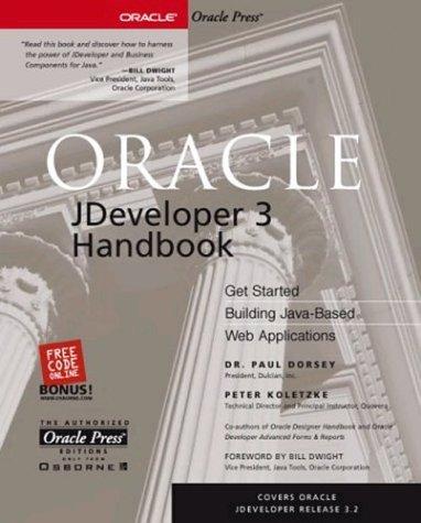 Oracle JDeveloper 3 Handbook