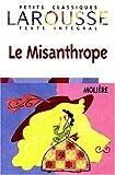 Le Misanthrope (Larousse Petets Classiques Texte Integral) (French Edition)