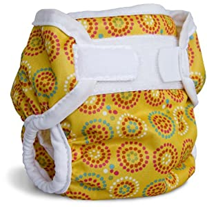 Bummis Super Brite Diaper Cover, Yellow, 27-36 Pounds