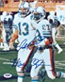 Dan Marino & Mark Clayton Autographed 8x10 Photo Miami Dolphins Psa/dna Stock #64942