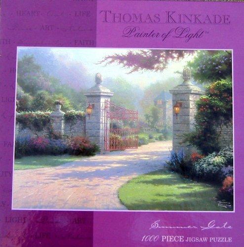 Thomas Kinkade Painter of Light Puzzle-Summer Gate