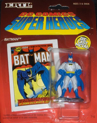 "Buy Low Price ERTL Batman DC Comics Super Heroes ""Batman"" Die Cast Metal Figure (B000GHLPBA)"