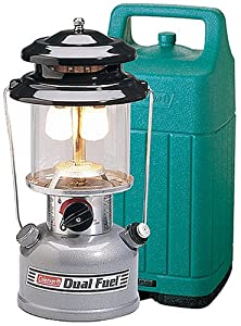 Coleman Two-Mantle Dual Fuel Lantern with Hard Case by Coleman