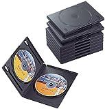 ELECOM CCD-DVD06BK DVDトールケース