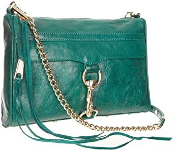 Rebecca Minkoff MAC Convertible Cross-Body Handbag,Teal,One Size