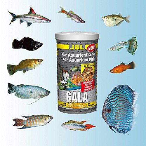 Jbl gala nourriture pour poissons 1 x 5 5 l for Nourriture poisson rouge 1 mois