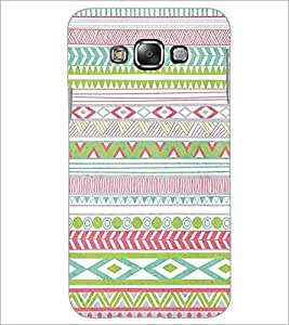 SAMSUNG GALAXY J7 COLORFUL PATTERN Designer Back Cover Case By PRINTSWAG