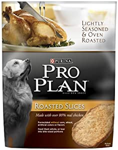 Purina Pro Plan Roasted Slices Dog Snack, Chicken, 3.5-Ounce Packages (Pack of 6) at Sears.com