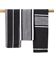 3 Striped Tea Towels