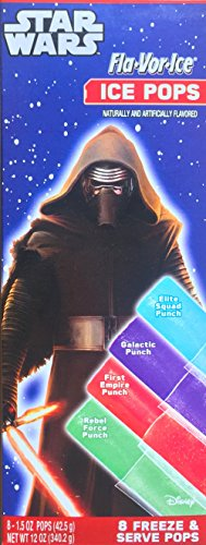 Star Wars Fla-vor-ice Ice pops (Star Wars Candy)