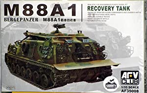 AFV Club Models 1/35 M88A1 Armored Recovery Vehicle
