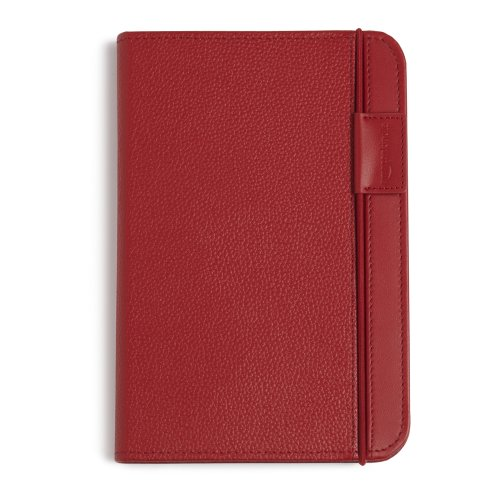Kindle Leather Cover, Burgundy Red (Fits 6