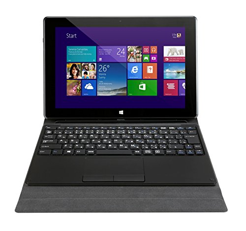 【Amazon.co.jp限定】 MSI 2in1ノートPC/タブレット S100 (Z3735D/2G/32G/10.1 inch touch/Win8.1withBing/MS Office 2013 H&B/ラッピングカバー・タッチパッド付専用キーボード付属)S100-009JP