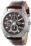 Pulsar パルサー Men's PF8303 Sport クロノグラフ Brown Dial Leather ストラップウォッチ 男性用 メンズ 腕時計 (並行輸入)