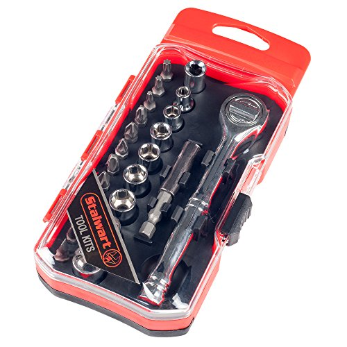 Stalwart-75-HT4034-Stubby-Ratchet-and-Screwdriver-Bit-Set-34-Piece