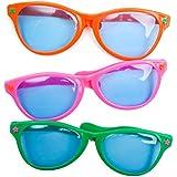 Jumbo Sunglasses (Assorted Colors)