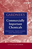 img - for Gardner's Commercially Important Chemicals: Synonyms, Trade Names, and Properties book / textbook / text book