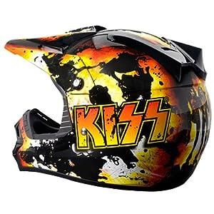 Rockhard KISS MX Off Road Dirt Helmet - Medium