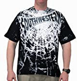 Southwestern Shatter Black Short Sleeve Shirt