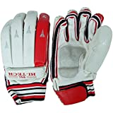 "WSG ""Hitech"" Light Weight Men`s PU Leather Protection Cricket Batting Gloves - 1 Pair"