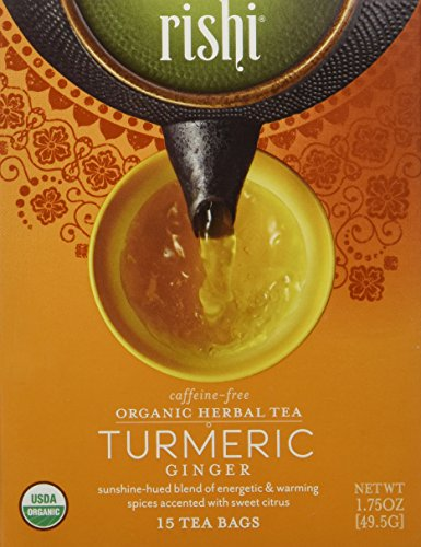 Rishi-Tea-Organic-Herbal-Tea-Caffeine-Free-Turmeric-Ginger-15-Tea-Bags